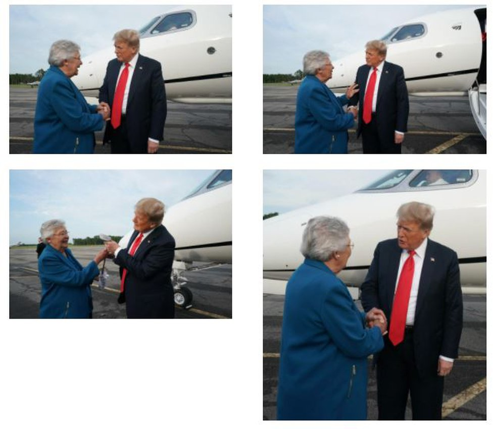 Governor Kay Ivey Welcomes Fmr. President Trump to Alabama
