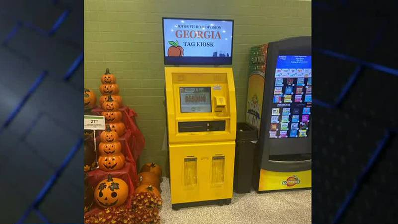 Vehicle car tag kiosks now available in select Publix locations in Columbus