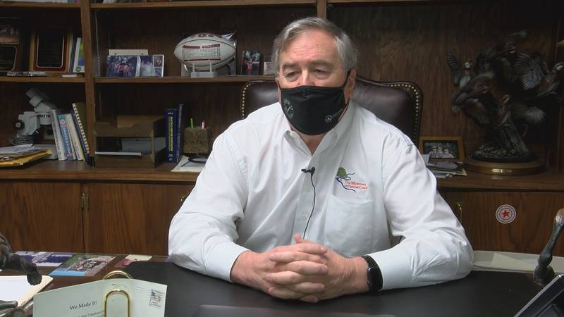 Montgomery-area pulmonologist Dr. David Thrasher encourages Alabamians to continue to remain...