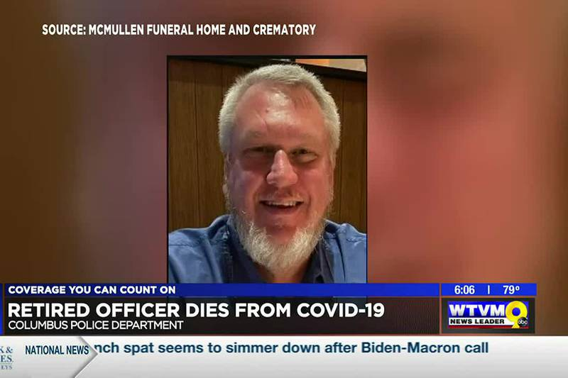 Retired Columbus police officer dies from COVID-19