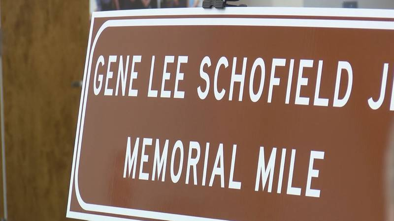 A stretch of Interstate 65 in Butler County was named in Gene Schofield's honor after he was...