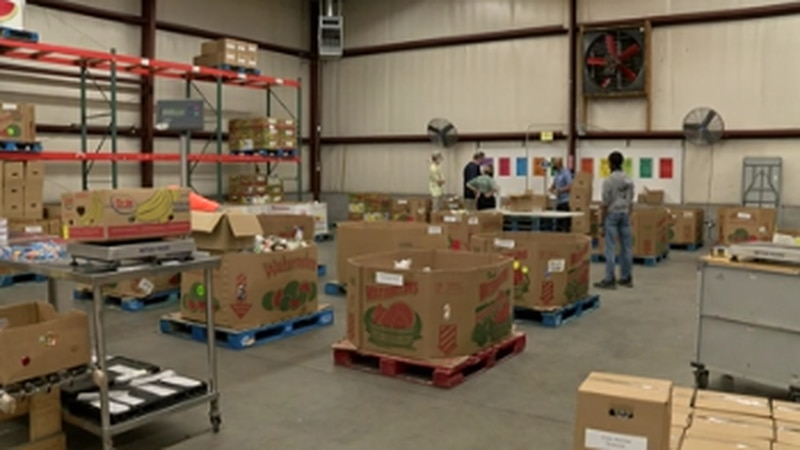 Food Bank of East Alabama prepares for Thanksgiving; reflects on pandemic's impact
