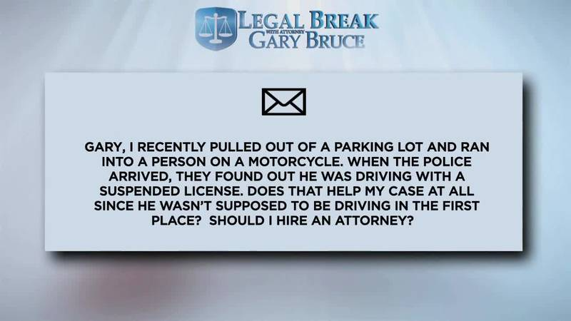 LEGAL BREAK - SUSPENDED LICENSE