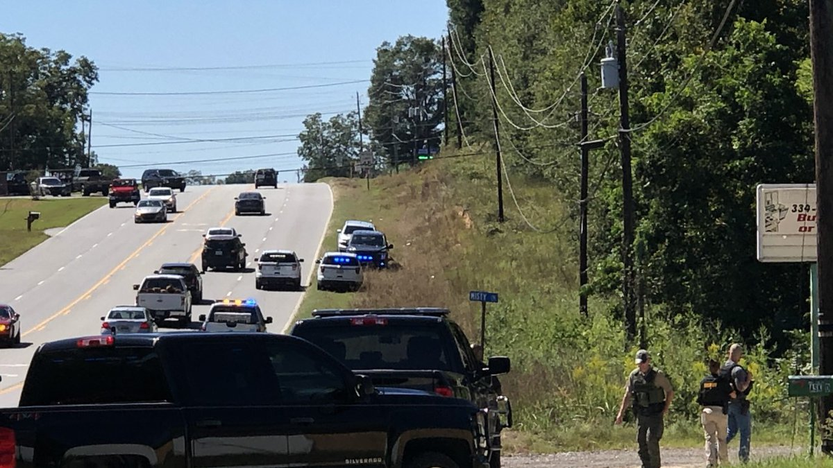 Heavy police presence on Hwy. 80, Misty Lane in Phenix City