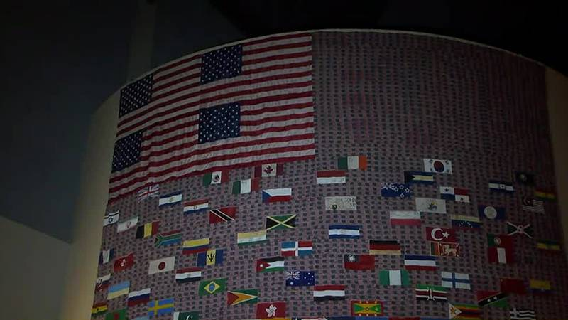 National Infantry Museum debuts new 9/11 flag exhibit