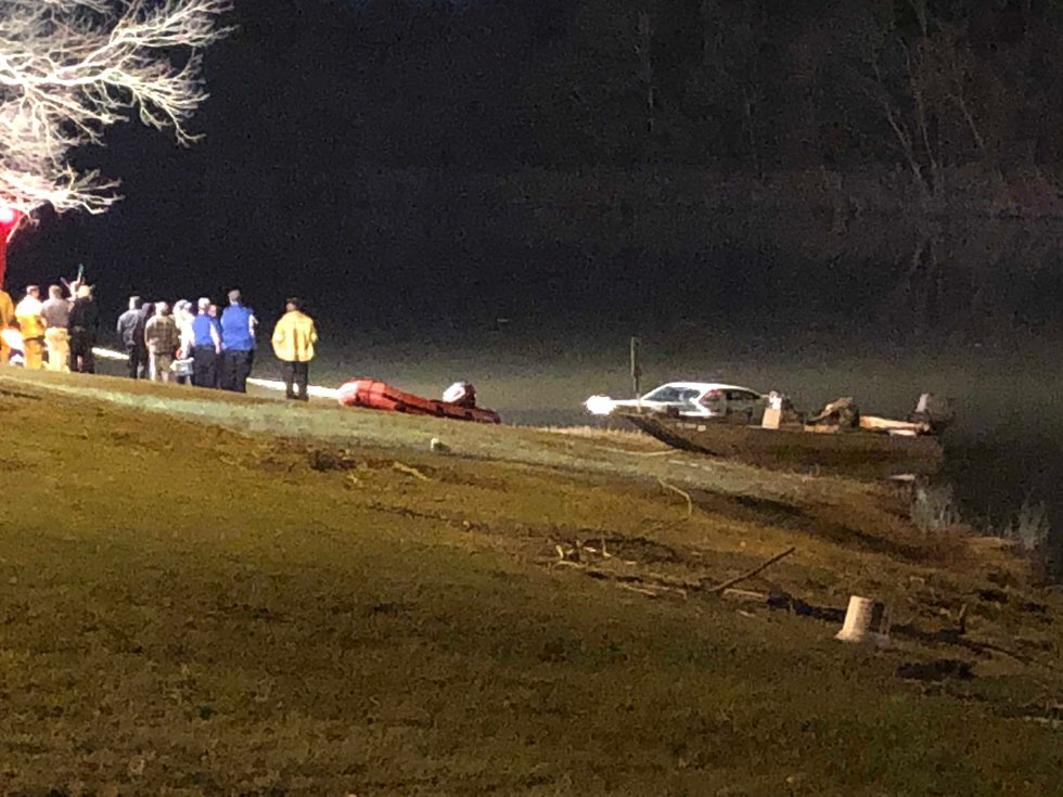 The car was pulled out of the water Thursday night at Gold Star Park in Wetumpka.