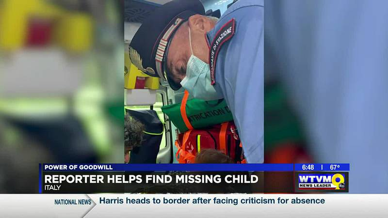 Power of Goodwill: Reporter Helps Find Missing Child
