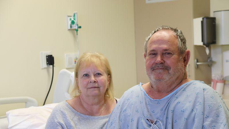 A Beauregard man is recovering after undergoing a life-saving procedure at the East Alabama...