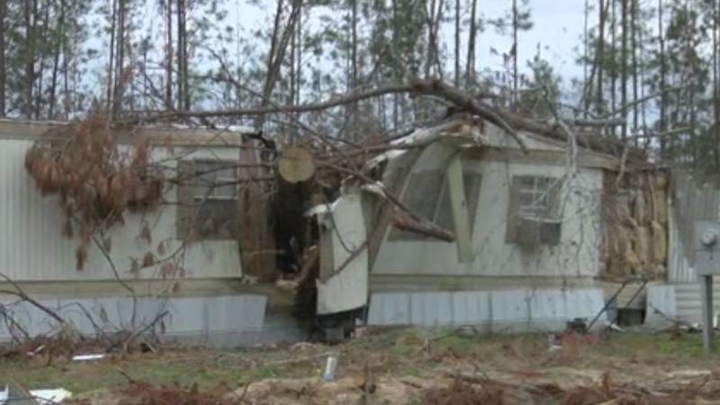 Former Columbus woman's home in Marianna, FL destroyed by Hurricane Michael