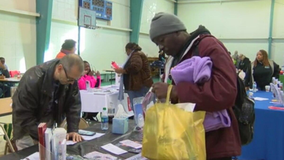 Columbus organization holds homeless resource fair
