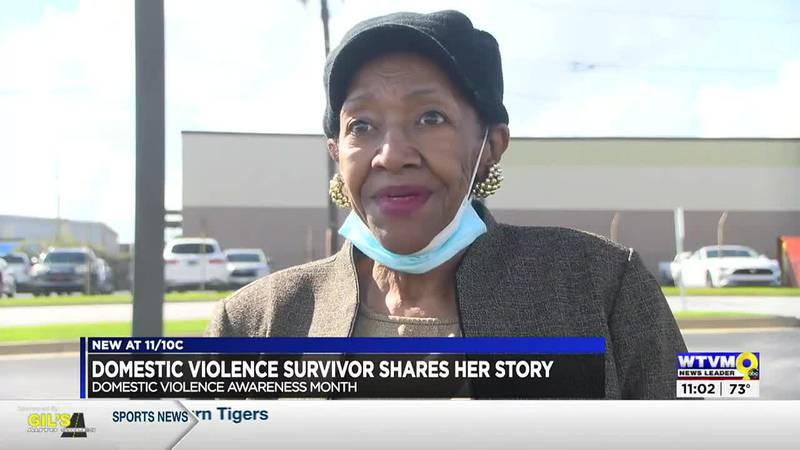 'He pulled the gun on me': Domestic violence survivor remembers close call