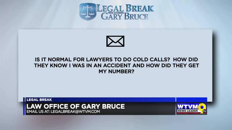 LEGAL BREAK - COLD CALLS