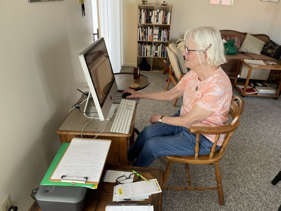 Angelika Levien lives in Highland County, Virginia where a large population of senior citizens...