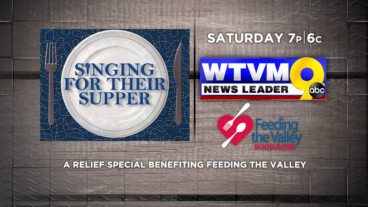WTVM will air a concert benefiting local food banks.