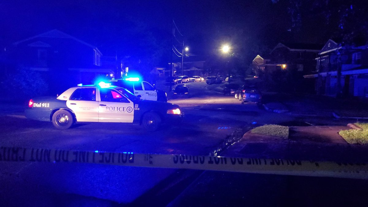 Columbus police are on the scene of a shooting at Wilson Apartments.
