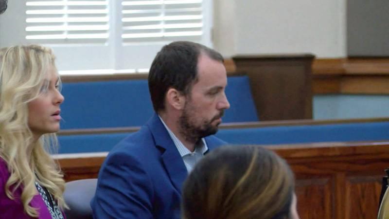 Ryan Duke in court in 2018 (WALB)