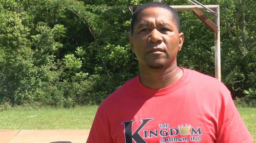 Pastor Courtney Moore was raised in this area and he said he believes there's built up anger in...