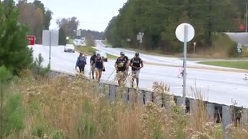Veterans walking to raise awareness of veteran suicide and military issues