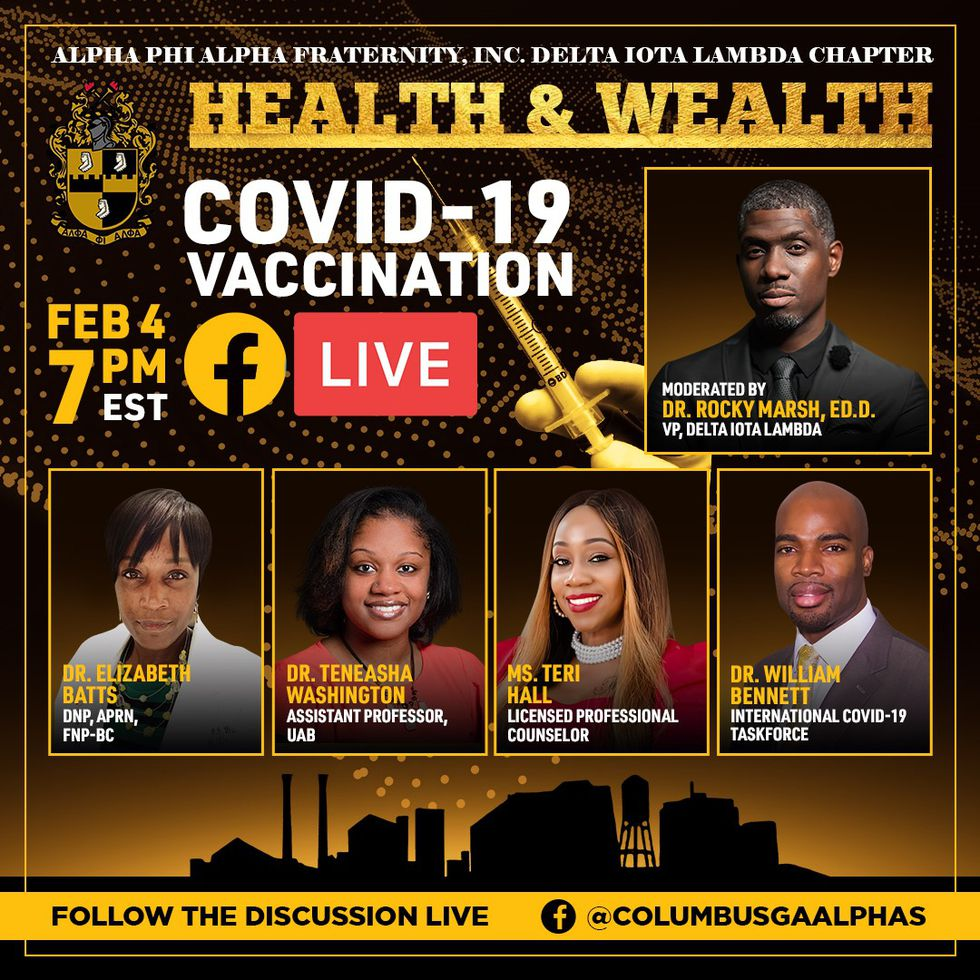 COVID Vaccine Panel on Facebook Live