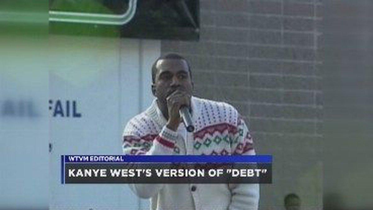 WTVM Editorial 2/19/16: Kanye West's version of debt
