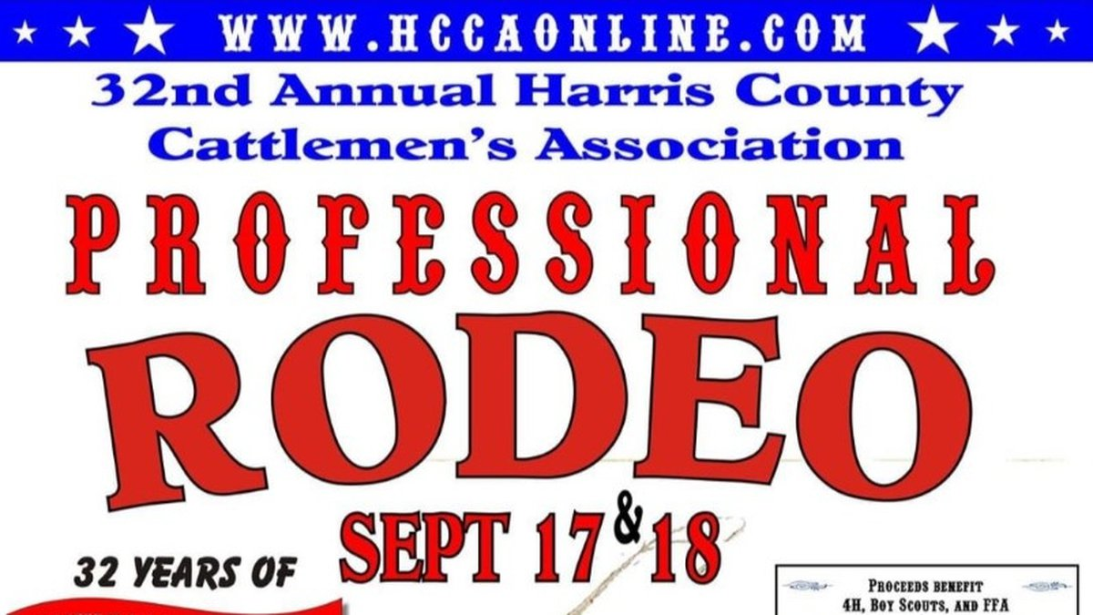 Harris County Cattleman Association to host 32nd annual rodeo