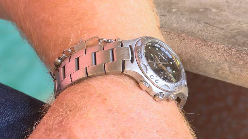 12 years ago Mason Marvel lost his TAG Heuer watch in the Coosa River.