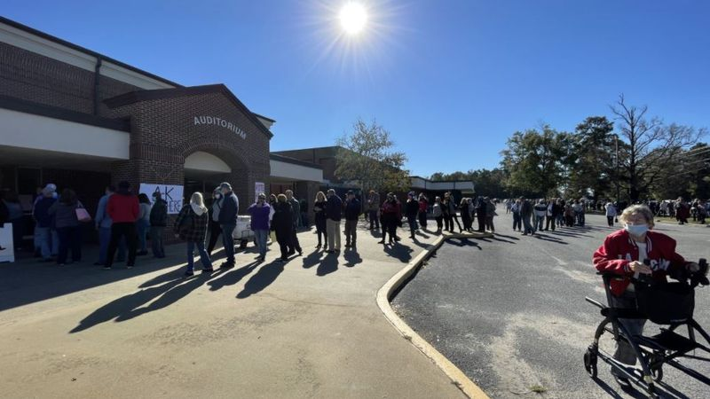 Alabama sees long wait times on Election Day
