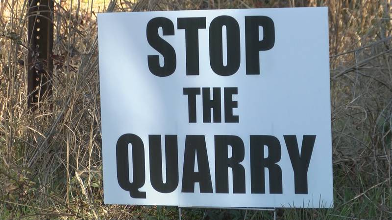 Dozens of people are speaking out against a proposed quarry in Opelika, citing concerns about...