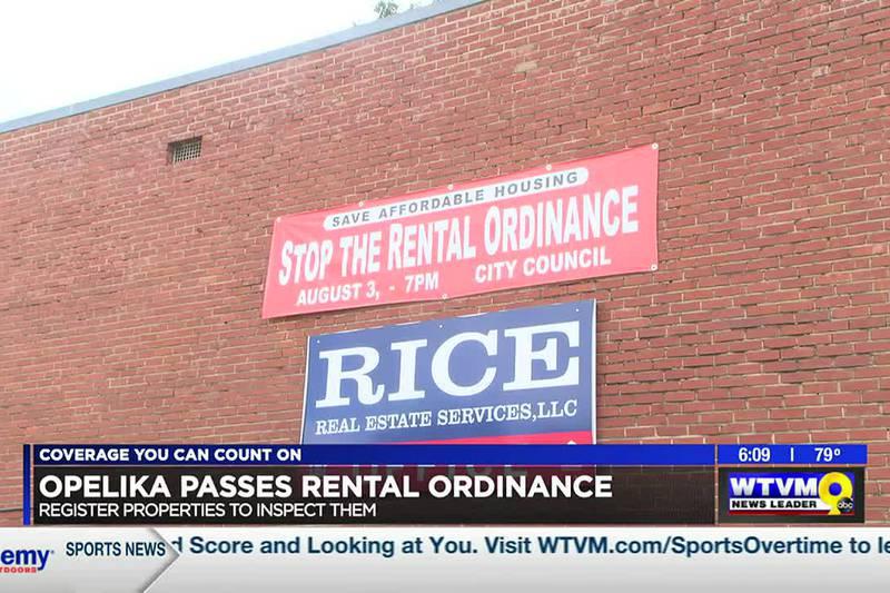City of Opelika passes rental ordinance; properties must be registered