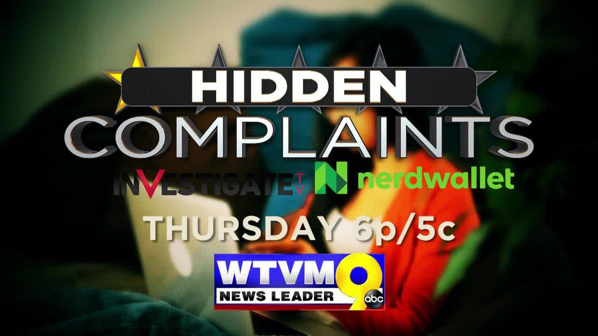 Special Report - Hidden Complaints