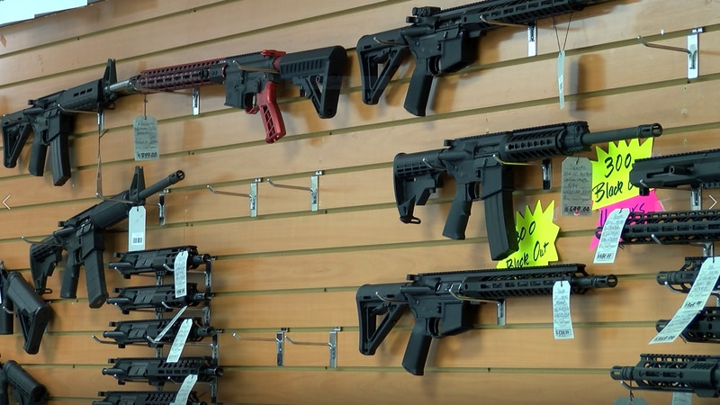 Southern Survival in Opelika has seen a surge in gun and ammunition sales since the coronavirus...