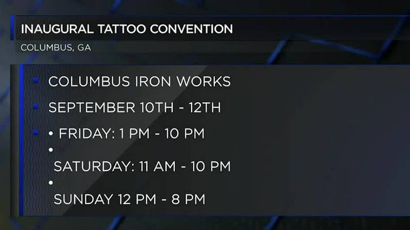 Inaugural tattoo expo happening this weekend in Columbus