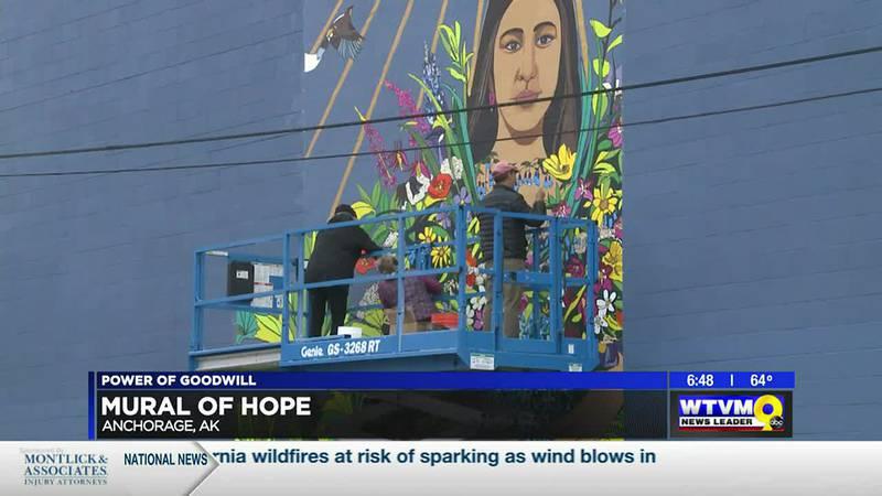 Power of Goodwill: Mural of Hope