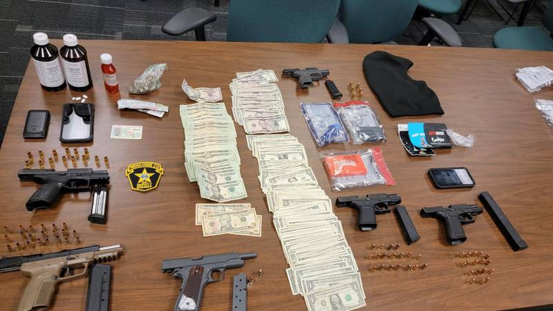 Multiple law enforcement agencies participate in Operation City Take Back, 14 individuals...
