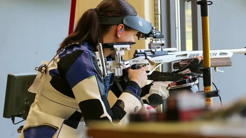 Team USA shooting Olympic trials at Ft. Benning