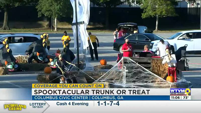 Second annual Spooktacular Trunk or Treat event held in Columbus