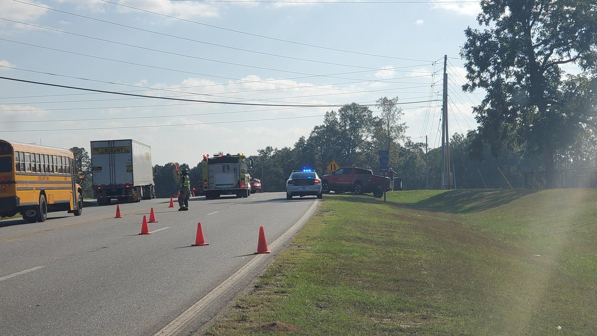 Section of Hwy. 165 in Russel Co. blocked following vehicle accident
