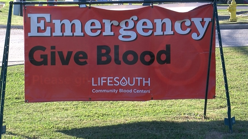 Life South is open seven days a week for donations.