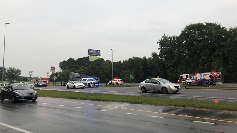 I-85 NB at Exit 62 in Opelika