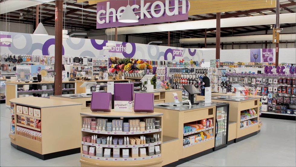 This is a sneak peek at what Dollar General's pOpshelf store will look like.
