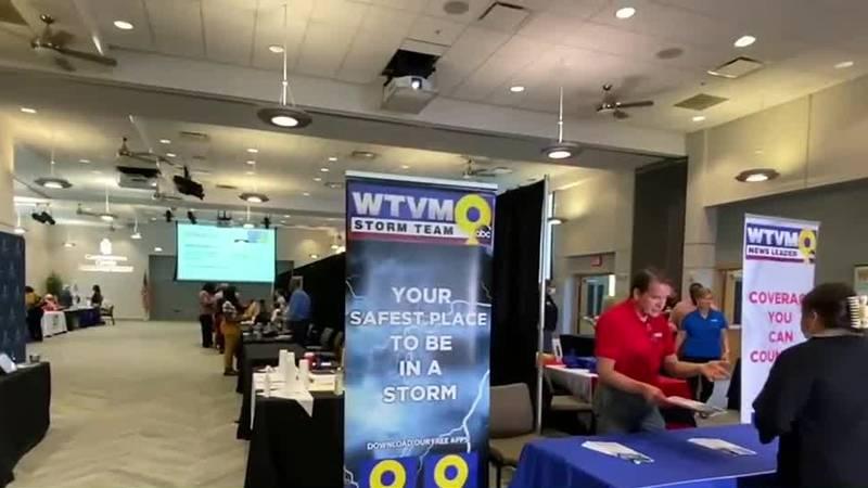 WTVM hosts job fair at Columbus State University's Cunningham Center