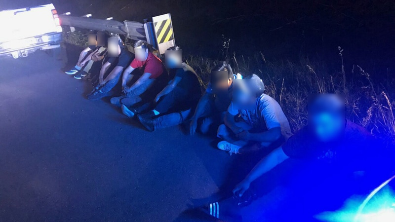 Nine illegal immigrants were arrested in a human trafficking investigation in DeKalb County on...