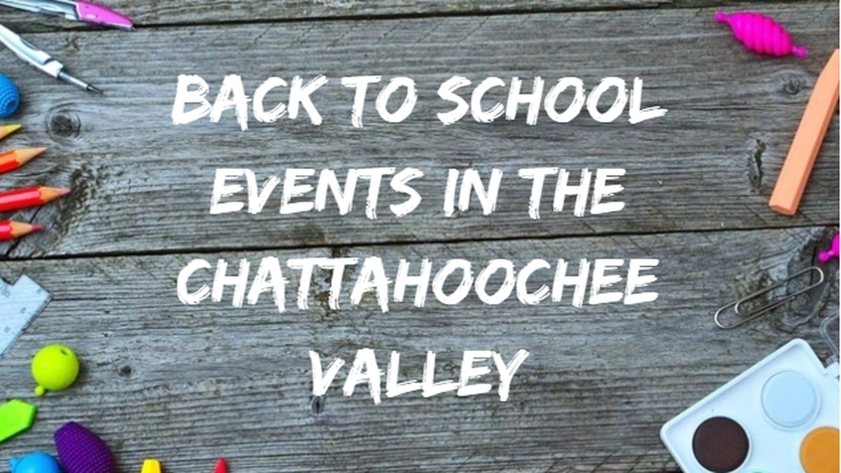 Back to School Events in the Chattahoochee Valley
