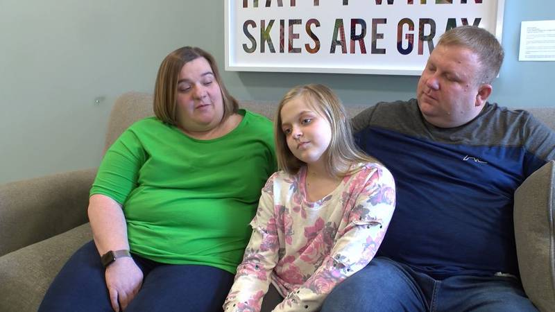 Ten-year-old Rylann Day is recovering from having a heart transplant.