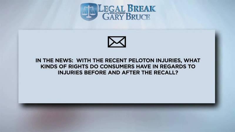 LEGAL BREAK - PELOTON