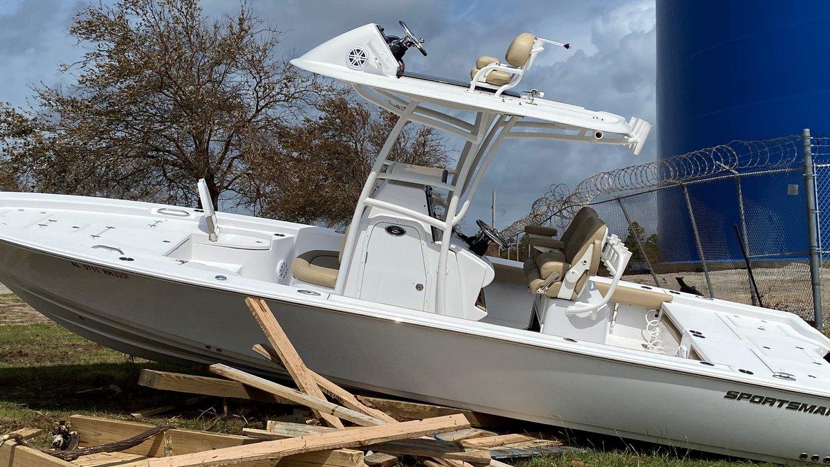 Damage from Hurricane Sally in Orange Beach.