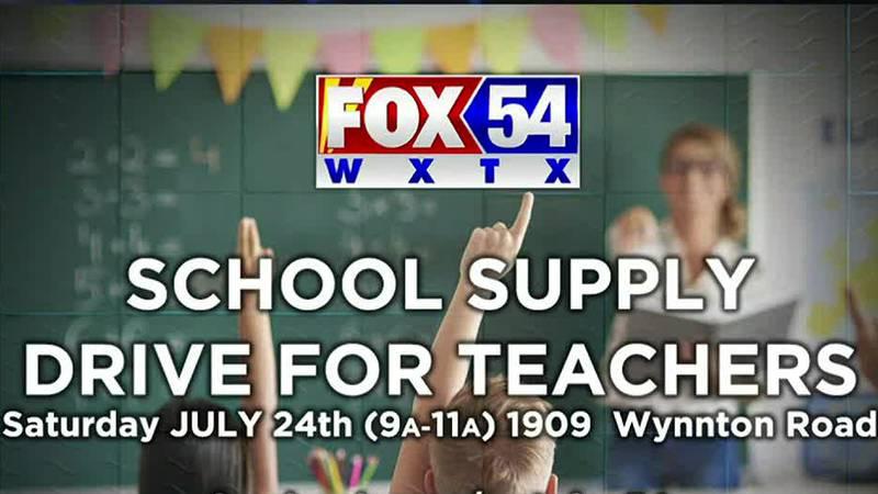 WXTX-Fox 54 hosting school supply drive to support teachers