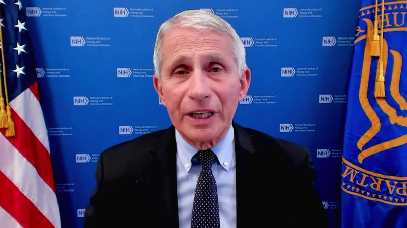 Dr. Anthony Fauci of the National Institutes of Health explains tactics to address vaccine...