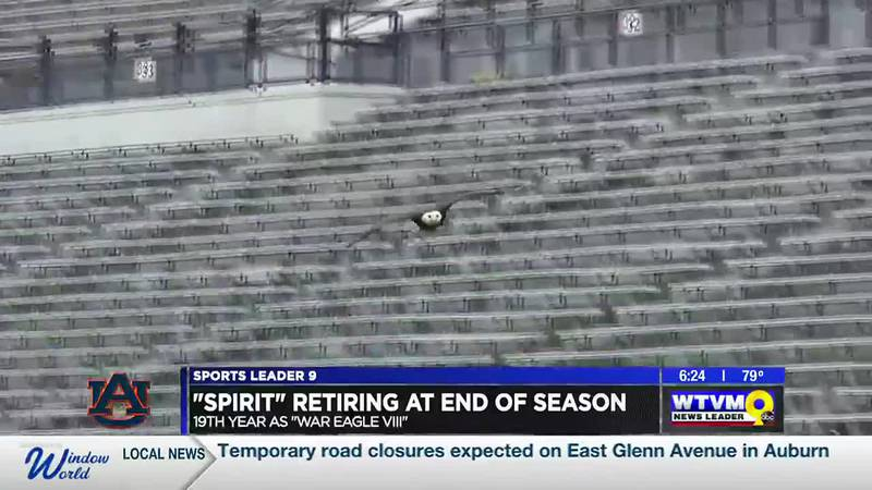"""""""Spirit"""" to retire from pre-game eagle flights at end of football season"""
