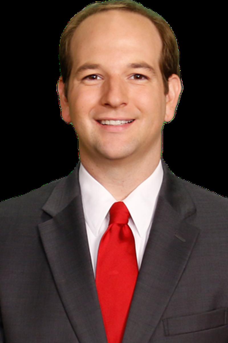 Headshot of Derek Kinkade, Chief Meteorologist